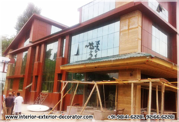 Aluminium Fabricators on Building